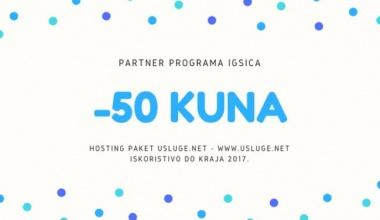 Popust na hosting paket -50kn